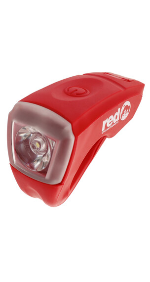 Red Cycling Products Urban LED USB Scheinwerfer rot